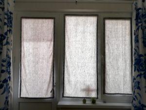 Вот так выглядит со шторами