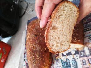 Красивый и вкусный бездрожжевой ржаной хлеб испечем сами.