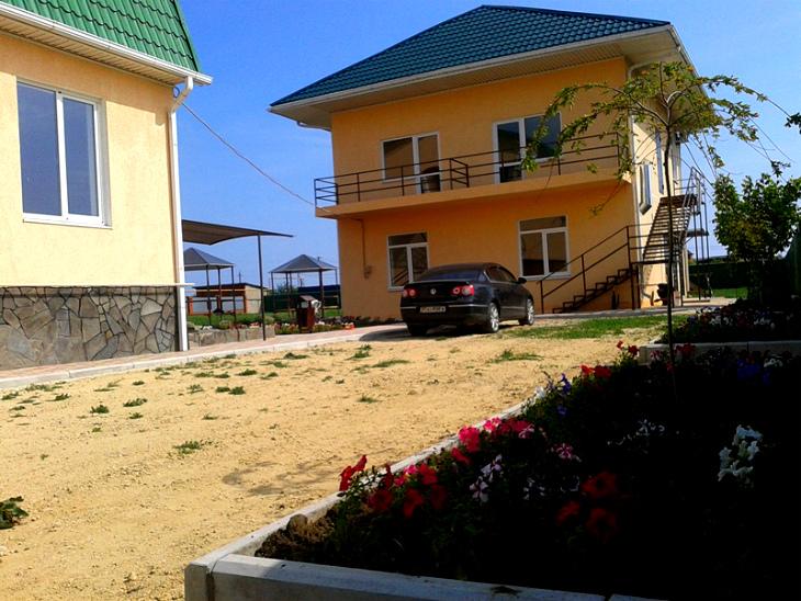 Дом на берегу Азовского моря., в одном из многочисленных хуторов Ростовской области.