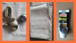 Что понадобилось для шитья штор