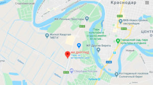 ЖК Дарград на карте