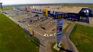(Район Адыгеи, его называют Новая Адыгея, где расположены все торговые гипермаркеты