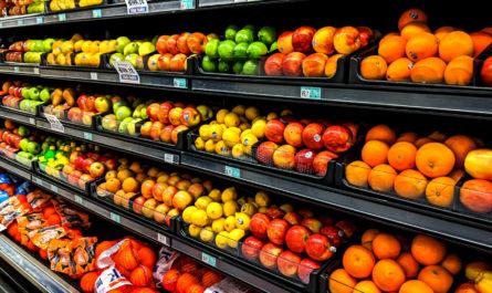 Диетические продукты в магазине