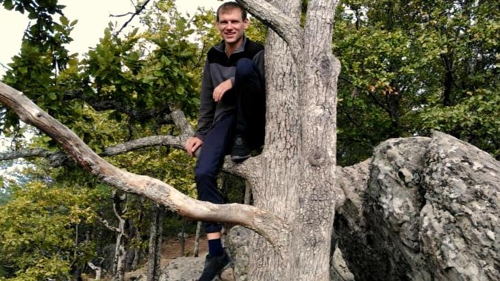 Красные скалы в Краснодарском крае