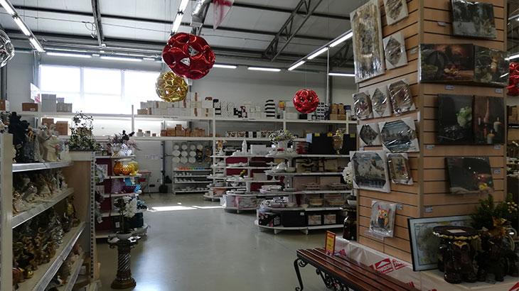 Торговый зал магазина Унидом в Адыгее