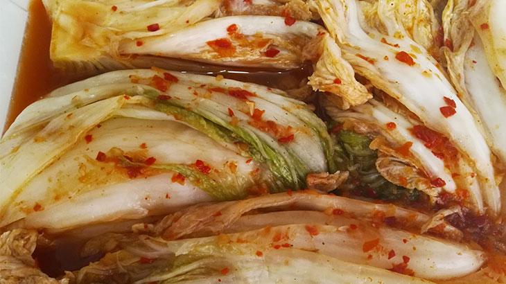 Подсоленная пекинская капуста