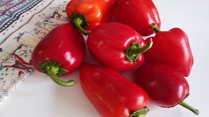 Готовим Лечо из перца и помидор