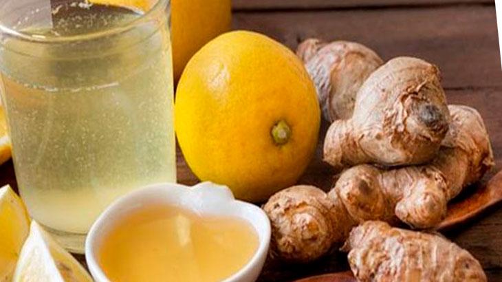 настойки из чеснока, имбиря, лимона
