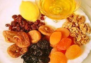 Ингредиенты пасты Амосова