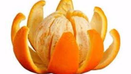 Как правильно разделать апельсин.